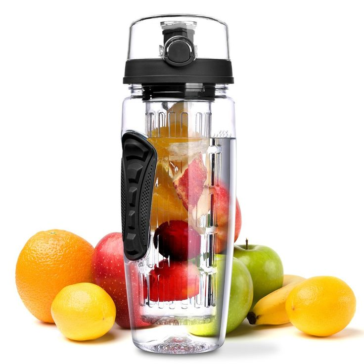 The Infuser bottle : Create YOUR kind of water!