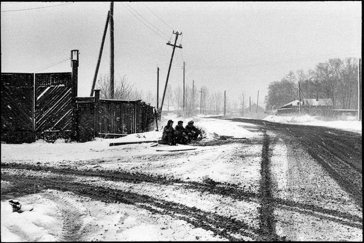 Irkoutsk, Russia, Soviet Union, 1972 by Henri Cartier-Bresson