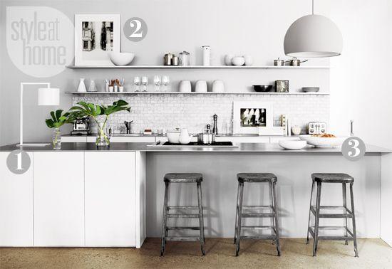 kitchen | industrial chic, industrial and industrial chic kitchen, Kuchen