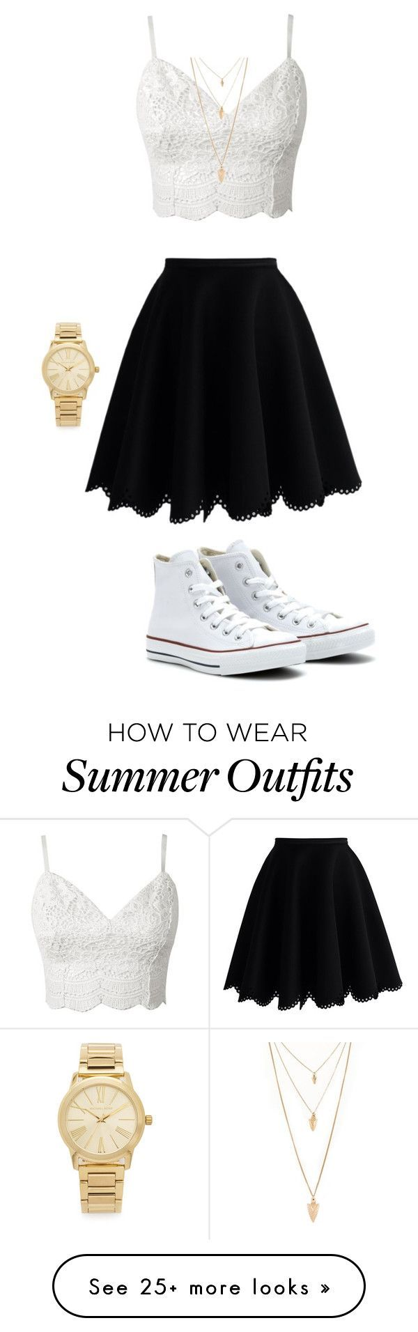 """""""Cute summer outfit"""" by itsnina101 on Polyvore featuring Chicwish, Converse, Michael Kors and Forever 21 - green fall dresses, dresses plus size, light blue dresses for juniors *sponsored https://www.pinterest.com/dresses_dress/ https://www.pinterest.com/explore/dresses/ https://www.pinterest.com/dresses_dress/flower-girl-dresses/ http://www.neimanmarcus.com/Womens-Clothing/Dresses/cat43810733/c.cat"""