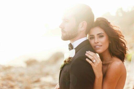Fashion blogger Sazan Barzani weds model/actor Stevie Hendrix http://sazan.me/fairytale-wedding-part1