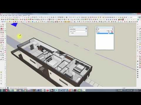 UncleBucks (V-Ray for SketchUp_ Part04_1 - 스케치업 단면도 with 브이레이 ) - YouTube