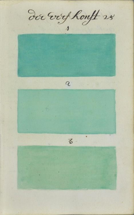 """""""271 Years Before Pantone, an Artist Mixed and Described Every Color Imaginable in an 800-Page Book"""" via thisiscolossal"""