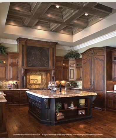 kitchen, kitchen, kitchenCabinets, Ideas, Beautiful Kitchens, Kitchens Design, Dreams Kitchens, Ceilings Details, Dreams House, Big Islands, Dream Kitchens