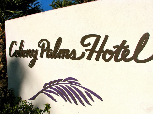 Colony Palms Hotel, Palm Springs, CA