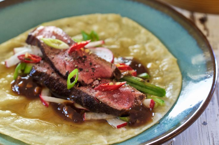 Chinese Rump and Hoisin-Lime Pancakes - Make delicious beef recipes easy, for any occasion