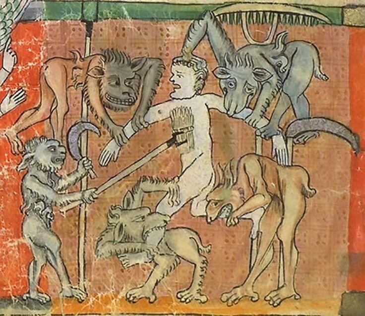 Ад. Апокалипсис Павла. Апокалипсис, около 1220-1270 /