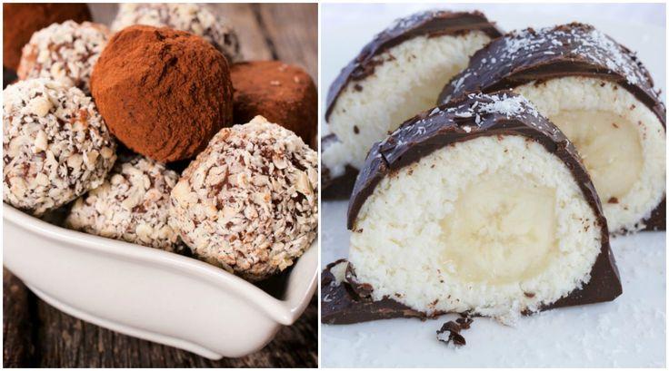 Recepty pre štíhlu líniu: 3 rýchle, nepečené a zdravé dezerty z kokosu - KAMzaKRÁSOU.sk