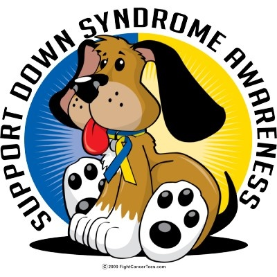 Down Syndrome Awareness:  Down syndrome is set of mental and physical symptoms that result from having an extra copy of Chromosome 21.  Even though people with Down syndrome may have some physical and mental features in common, symptoms of Down syndrome can range from mild to severe.  Usually, mental development and physical development are slower in people with Down syndrome than in those without the condition.
