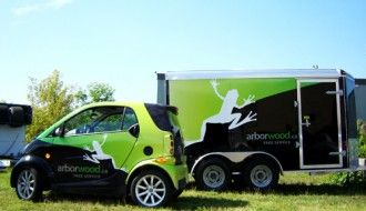 Arborwood Vehicle Wrap