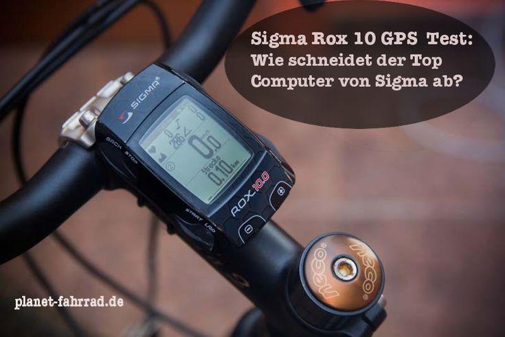 Sigmas Rox 10 im Test.  http://planet-fahrrad.de/sigma-rox-10-test-gps-fahrradcomputer/