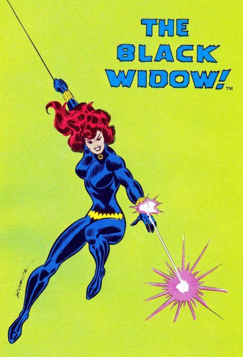 The Black Widow!