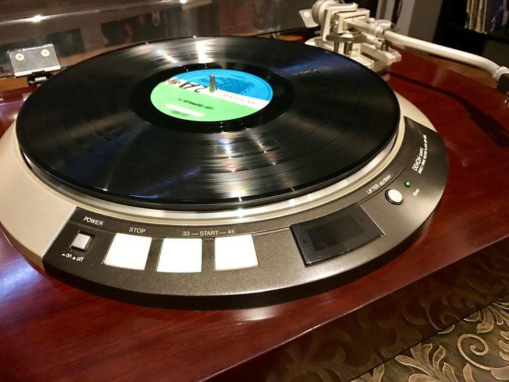 Denon Quartz Direct Drive Record Player DP-60L