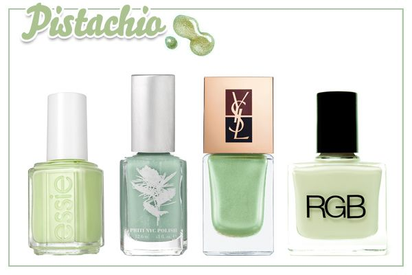 2012's most swoon-worthy nail colors.