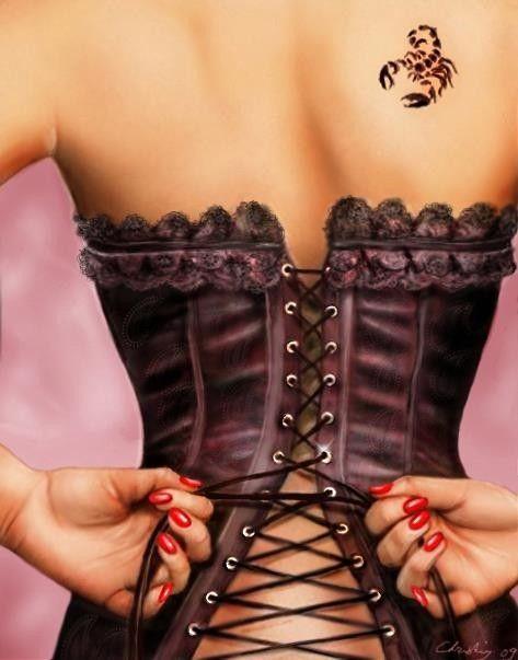 les 25 meilleures id es concernant tatouage corset sur pinterest tatouages de noeud en. Black Bedroom Furniture Sets. Home Design Ideas