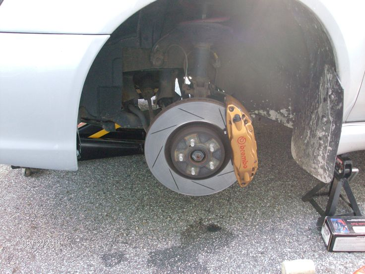 Brembo Brakes:  How to Install Rotors and Pads