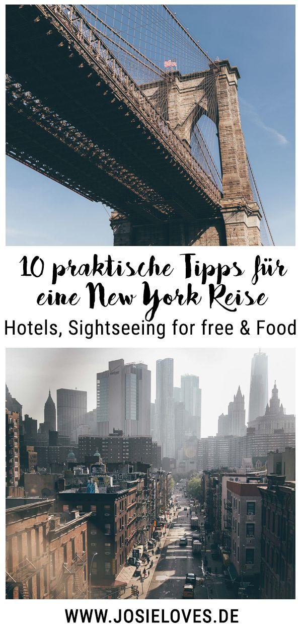 Zehn praktische Tipps für eine New York Reise