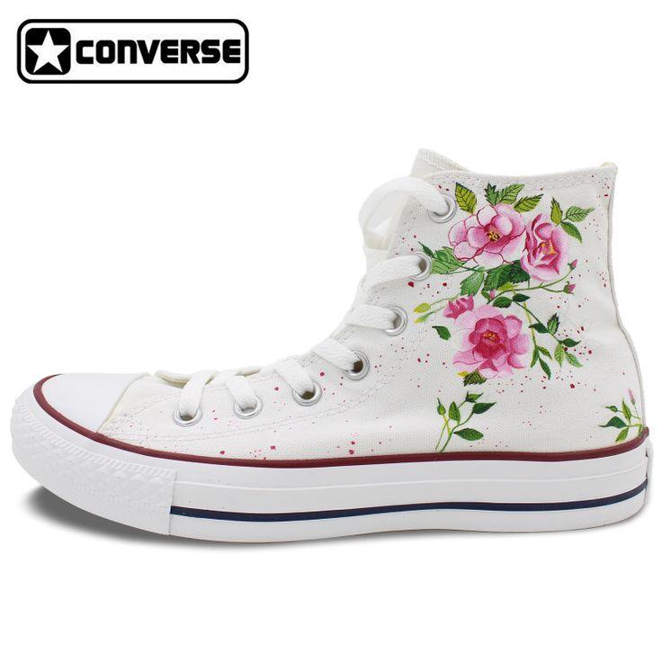 converse estampado flores