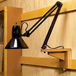 Portable light rig for cleat mount system.  Now I wish I didn't donate my old lamp...