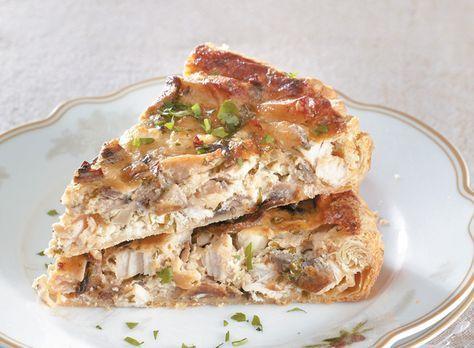 Ένα πολύ νόστιμο πρώτο πιάτο για το κυριακάτικο και το γιορτινό τραπέζι, που παρέα με μια πράσινη σαλάτα γίνεται εύκολα και ένα πλήρες κυρίως πιάτο.