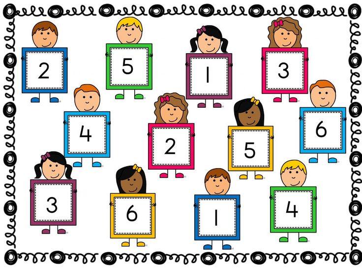 Spel 'Gooi en bedek' cijfers tot 6