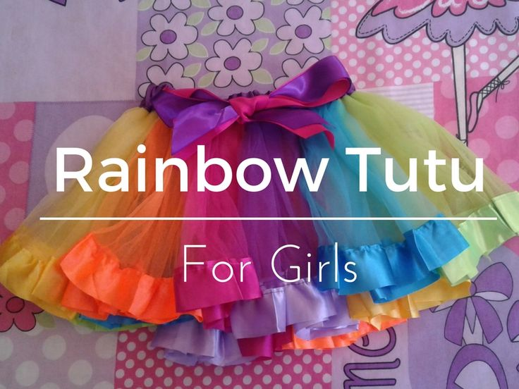 I have been just itching for this Rainbow Tutu for girls to arrive, I was absolutely convinced that it was going to be shoddy quality because if you buy something for $4.99 with free shipping well what can you expect right?  The SA Post Office is so expensive now that it is over R40 to post an ord
