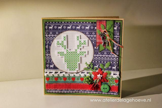 Papierlijn 'Christmas in the Country' van Papermania.