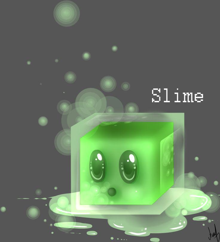 #Minecraft: Mobs [Slime] by AlinaKUS.deviantart.com on @deviantART
