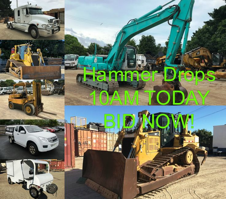 Get your bids in QUICK!  This Auction is packed with Ex-Gov & Council Assets PLUS huge savings on big CAT equipment. Register & BID NOW, Click here: