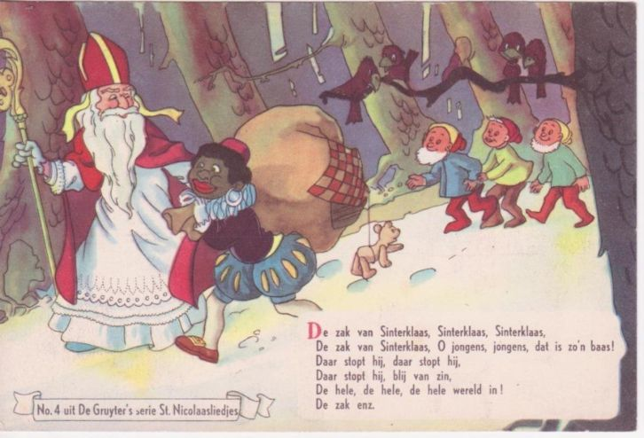De Gruyter 's zangboekje no:4  serie Sint Nicolaasliedjes