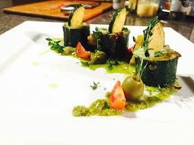 Everybody Loves an Italian: Zucchini Mascarpone Spinaci