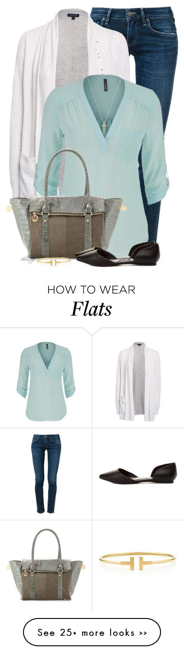 """Untitled #2087"" by sherri-leger on Polyvore featuring moda, Citizens of Humanity, Splendid, maurices, Neiman Marcus, Charlotte Russe, Gucci e Tiffany & Co."