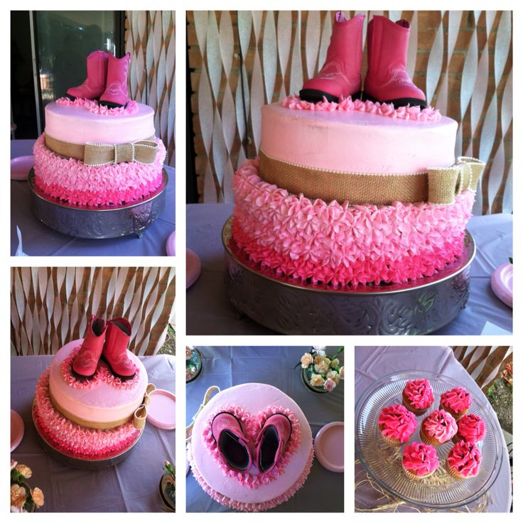 Cowgirl Baby Shower Cakes: 22 Best Kakez & More By Simply Clau Images On Pinterest