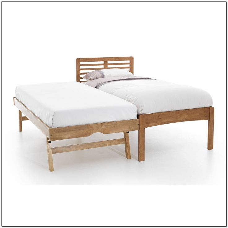 wooden trundle bed frame - Wooden Trundle Bed Frame