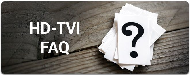 HD-TVI Frequently Asked Questions... What is HD-TVI?   HD-TVI, or High Definition Transport Video Interface, is a technology that converts digital signals to analog signals.