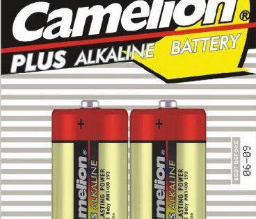 CAMELION alkalinePlus piles baby type c/lR14 1,5 v-lot de 2: Produit de qualité de la marque! cAMELIONS piles alcaline plus fiable et ont…