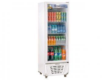 Expositor/Refrigerador Vertical 414L Frost Free - Gelopar GPTU 40 1 Porta c/ Fechamento Automático