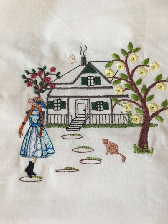 Anne Of Green Gables Machine Embroidery Download 3 Different With
