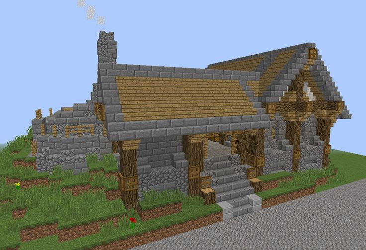 Middle Ages Blacksmith Forge - GrabCraft - Your number one source for MineCraft buildings, blueprints, tips, ideas, floorplans!