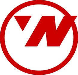 Northwest Airlines logo. cool that it points NW