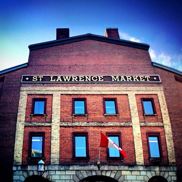 St. Lawrence Market - Toronto, Ontario. Also known as- Yum.