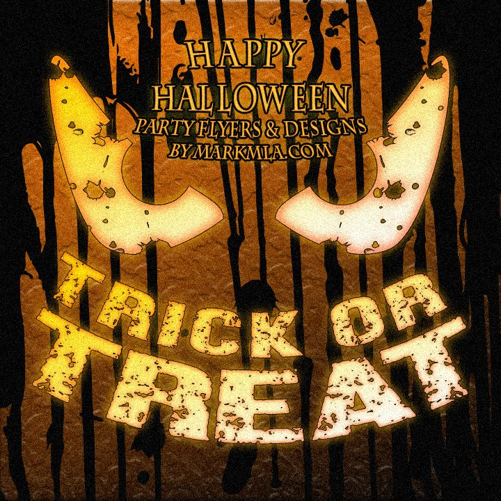 Halloween graphic designs for parties, ads and more! #halloween #graphicdesign #graphics #spooky #pumpkin #party #fun