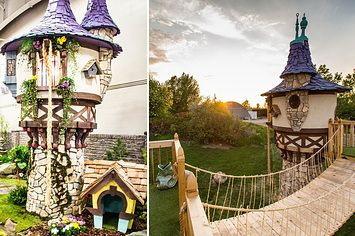 This Canadian Dad Is The World's Greatest Builder Of Luxury Playhouses