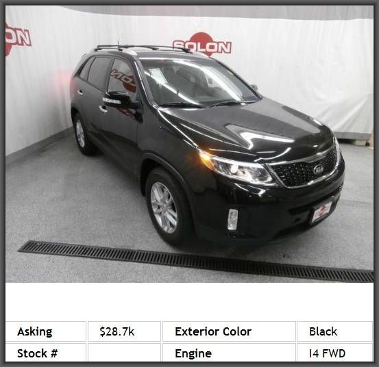 2014 Kia Sorento LX SUV Used Auto Sale! Call the internet sales staff and ask about this vehicle. Test drive today! Low Down Payment and Special Financing available. Trade-Ins are welcome. Hablamos Espanol.