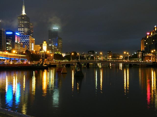Yarra River, Melbourne, Australia.