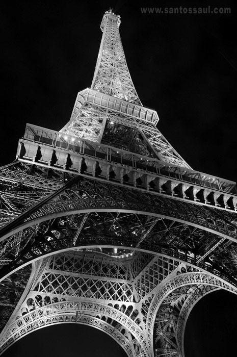 Torre Eifel, em Paris, Francia