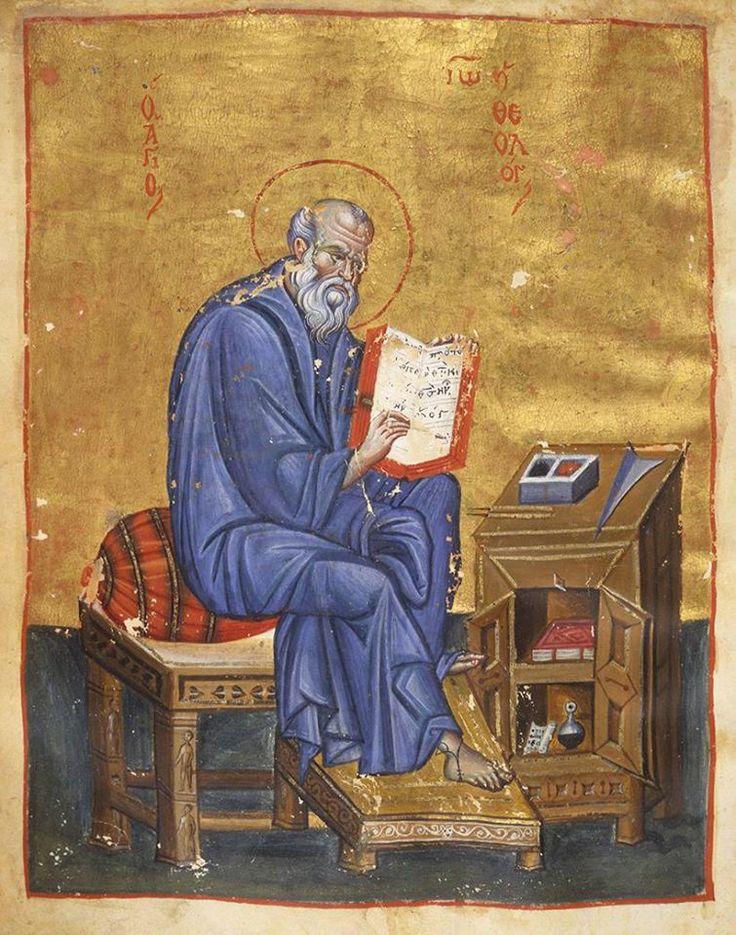 Heilige Johannes de theoloog