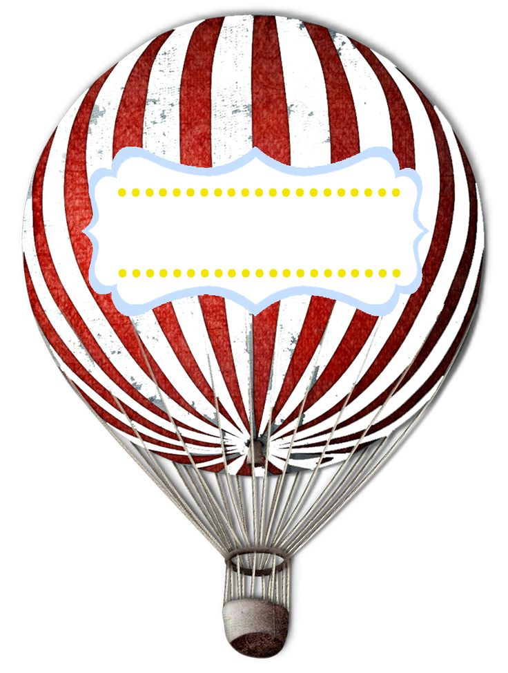 great free printable hot air balloon invites and food labels