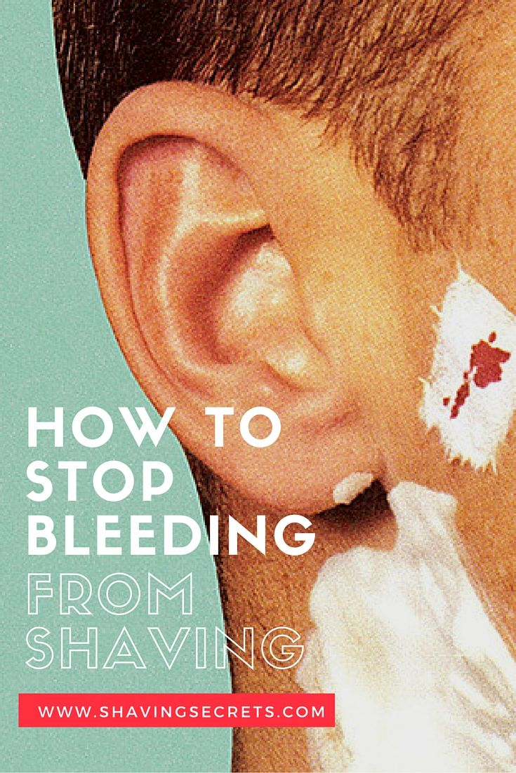 How to stop bleeding from sex