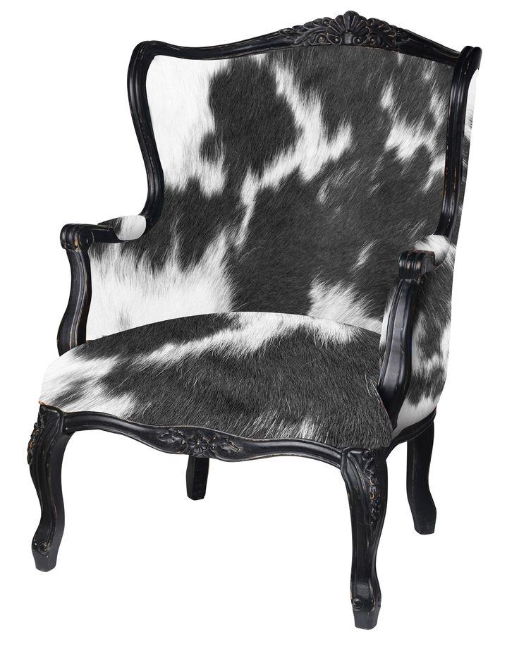 Designer Cow Chair